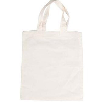 Výtvarné a kreativní hračky - Bavlněná taška k vymalování, velká