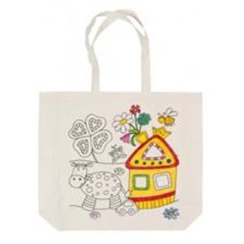 Výtvarné a kreativní hračky - Bavlněná taška k vymalování – Farma