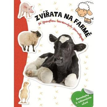 Výtvarné a kreativní hračky - Samolepková knížka - Zvířata farma