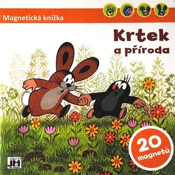Výtvarné a kreativní hračky - Magnetická knížka - Krtek a příroda