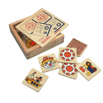 Hry a hlavolamy - Pexeso malé - MEMO