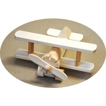 Pro kluky - Dřevěné letadlo dvouplošník
