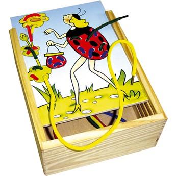 Motorické a didaktické hračky - Vyšívání - Ferda Mravenec
