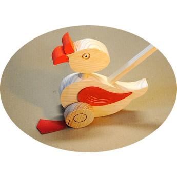 Pro nejmenší - Plácačka –  Kachna