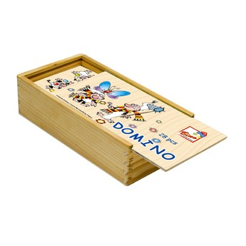 Hry a hlavolamy - Křemílek a Vochomůrka - domino 28 ks