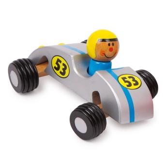 Pro kluky - Zavodní autíčko - stříbrné