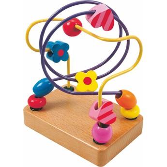 Motorické a didaktické hračky - Motorický labyrint Korálky