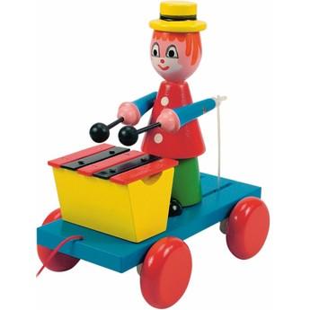 Pro nejmenší - Tahací klaun s xylofonem