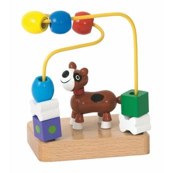 Motorické a didaktické hračky - Motorický labyrint mini - pes