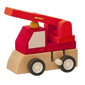 Pro kluky - Natahovací autíčko - Hasičské auto