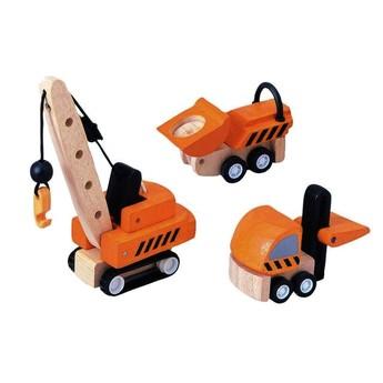 Pro kluky - Stavební stroje, 3 ks