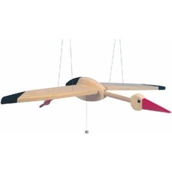 Dětský pokojíček - Létací čáp velký