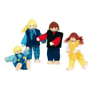 Pro holky - Panenky do domečku – mladá rodina