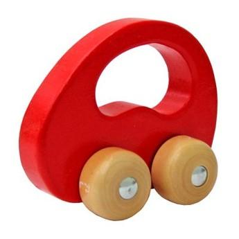Pro kluky - Dřevěné autíčko červené