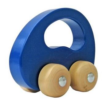 Pro kluky - Dřevěné autíčko modré