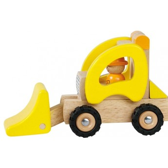 Pro kluky - Dřevěné nakládací autíčko