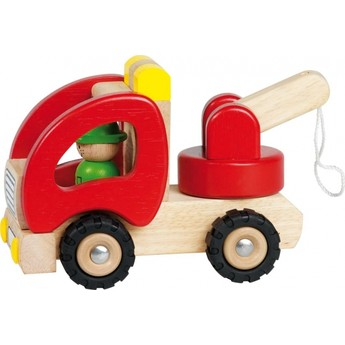 Pro kluky - Dřevěné odtahovací autíčko