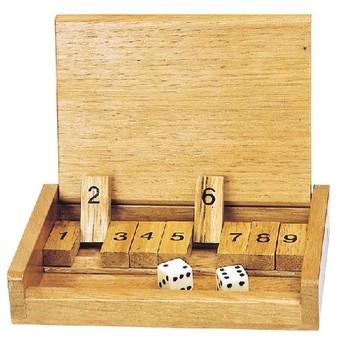 Cestovní hra – Shut the box