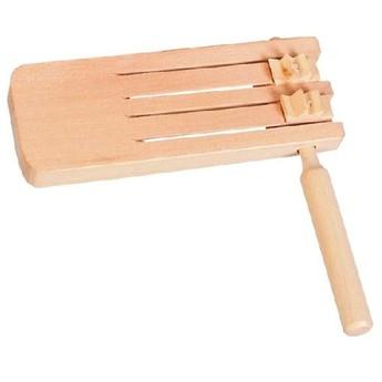Dětské hudební nástroje - Dvojitá řehtačka