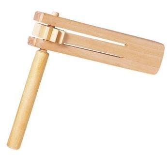 Dětské hudební nástroje - Dřevěná řehtačka