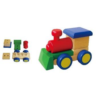 Pro kluky - Skládačka lokomotiva