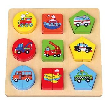 Puzzle - Puzzle dopravní prostředky