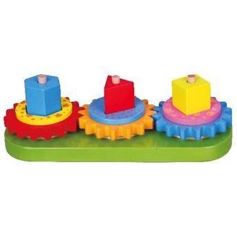 Motorické a didaktické hračky - Ozubená kolečka