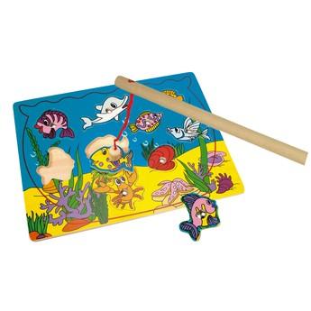 Motorické a didaktické hračky - Puzzle - magnetické akvárium