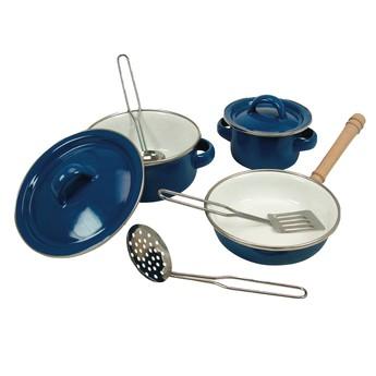 Pro holky - Sada smaltovaného nádobí, 8 ks