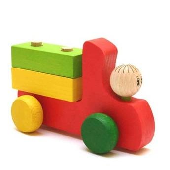 Pro kluky - Nákladní autíčko se 2 kostkami III