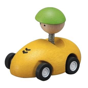 Pro kluky - Závodní autíčko - žluté