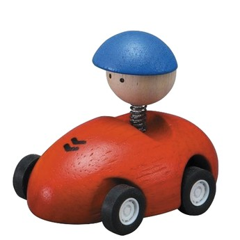 Pro kluky - Závodní autíčko - červené