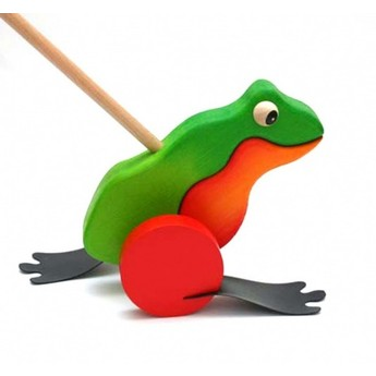 Pro nejmenší - Plácačka – Žába