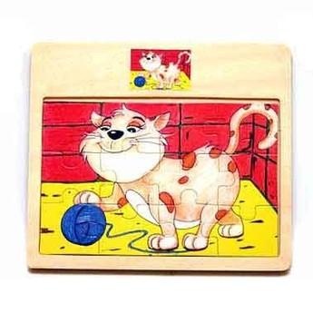 Puzzle - Puzzle mini - Kocourek 12 dílů