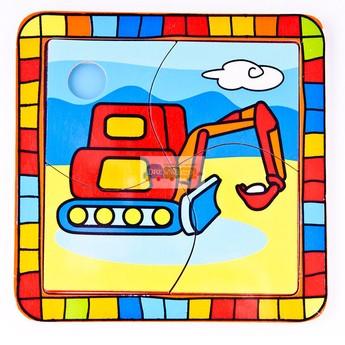 Puzzle - Puzzle mini - Bagr