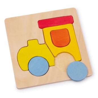 Puzzle - Vkládací puzzle - Mašinka