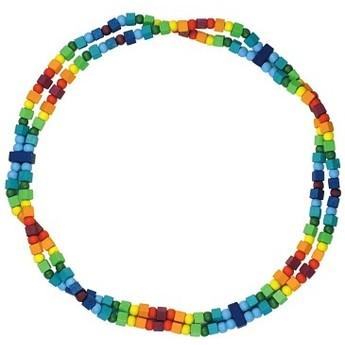 Pro holky - Dětský náhrdelník duhový