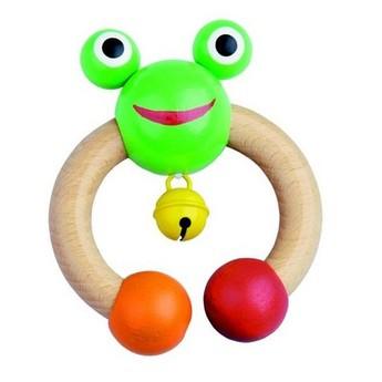 Pro nejmenší - Chrastítko Žabka