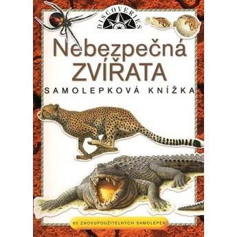 Výtvarné a kreativní hračky - Samolepková knížka - Nebezpečná zvířata