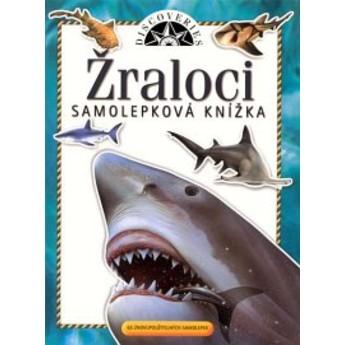 Výtvarné a kreativní hračky - Samolepková knížka - Žraloci