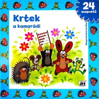 Výtvarné a kreativní hračky - Magnetická knížka - Krtek a kamarádi