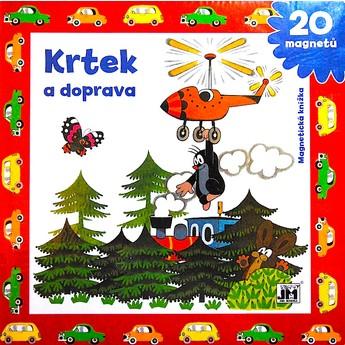 Výtvarné a kreativní hračky - Magnetická knížka - Krtek a doprava