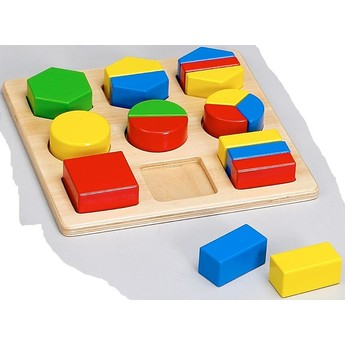 Motorické a didaktické hračky - Geometrické tvary