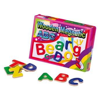 Školní potřeby - Magnetky abeceda 52 ks