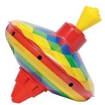 Plechové hračky - Káča - Abstrakt