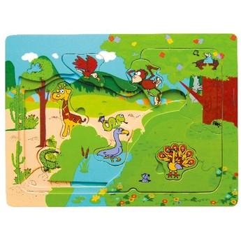 Puzzle - Puzzle multi - zoo