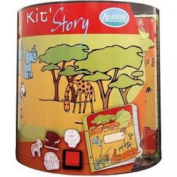 Výtvarné a kreativní hračky - Výtvarný kufřík Safari
