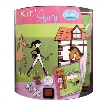 Výtvarné a kreativní hračky - Výtvarný kufřík Svět koní