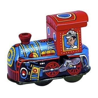 Plechové hračky - Mini lokomotiva