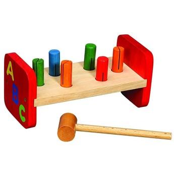 Motorické a didaktické hračky - Zatloukačka ABC